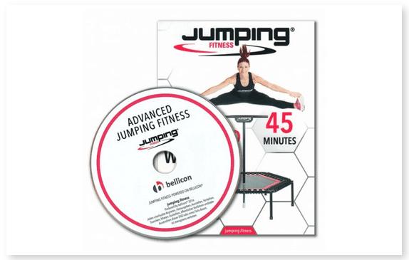 DVD Training Jumping Fitness Advanced Deutsch