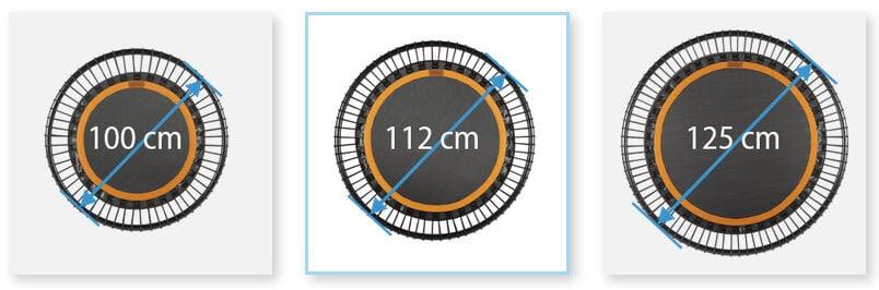 bellicon Trampolin Modelle Durchmesser Größe